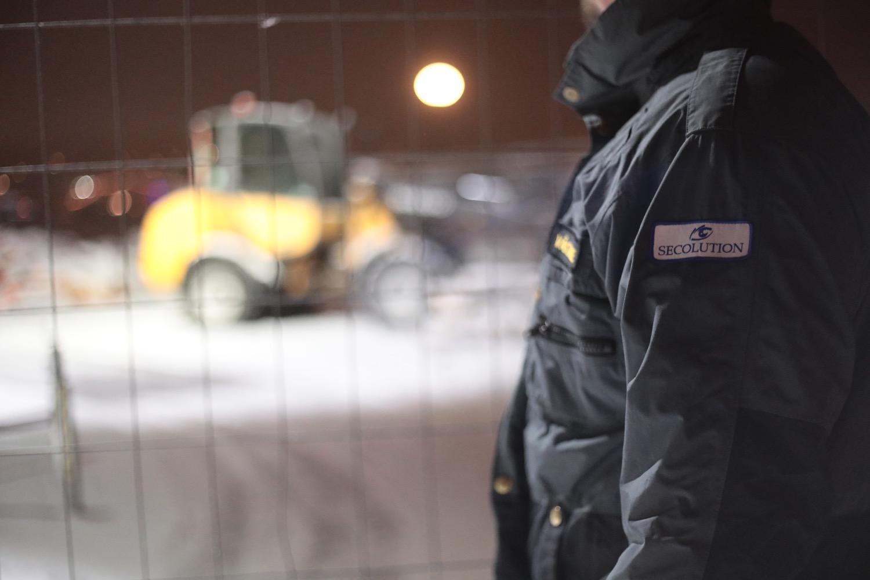 För väktare och byggbevakning, kontakta Secolution