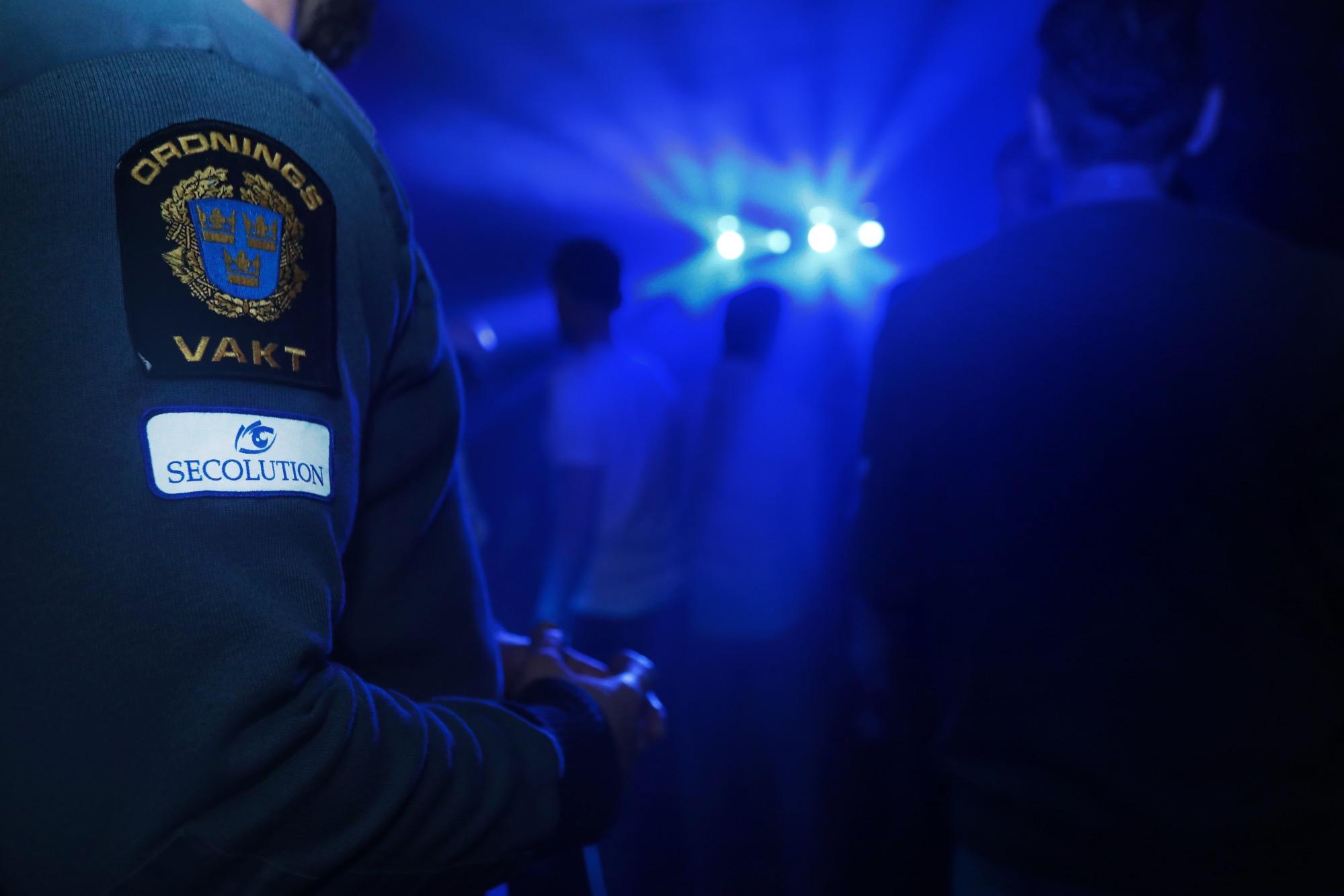 Ordningsvakter står för nattklubbssäkerhet